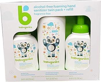 Babyganics Hand Sanitizer Refill  2 Pack   Net Wt 32.9 Fl Oz 32.9 Fluid Ounce