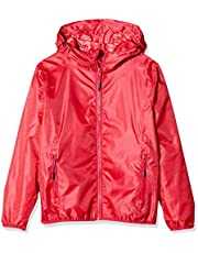CMP Rain Jacket With Fixed Hood Chaqueta Impermeable con Capucha Niñas