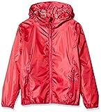 CMP Rain Jacket with Fixed Hood Chaqueta, Chica, Ibisco-Coral, 176