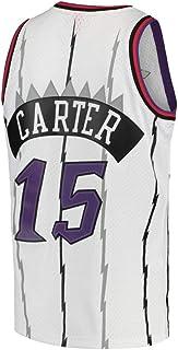 Qutjiw Men's Vince Jerseys Adult Athletics 15 Carter Basketball Retro