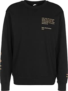 Nike Sportswear Swoosh Men's Crew DC2577-010 Black/Metallic Gold