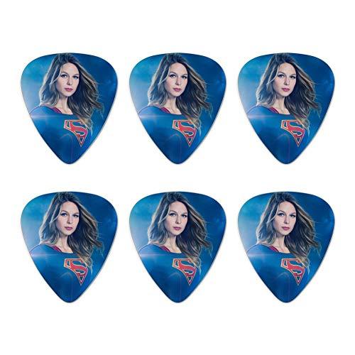 Supergirl TV-Serie Supergirl Gitarre Plektrum Plektron Picks (Medium) 6 Stück