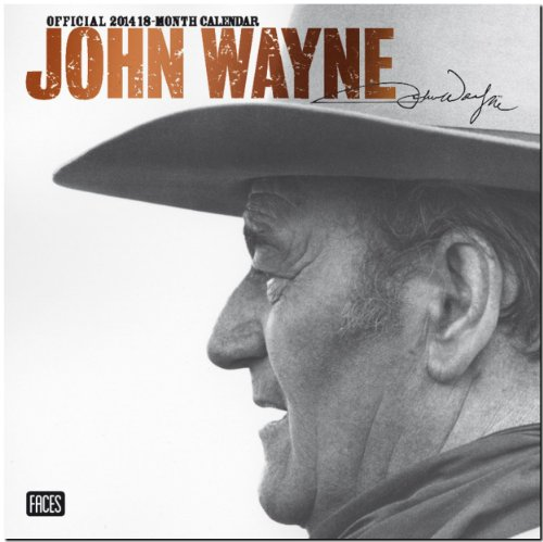 John Wayne 2014: Original BrownTrout-Kalender [Mehrsprachig] [Kalender]