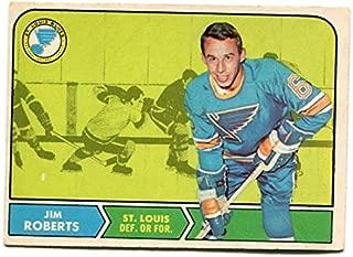 OPC 1968/69 Jim Roberts Card #113 St. Louis Blues