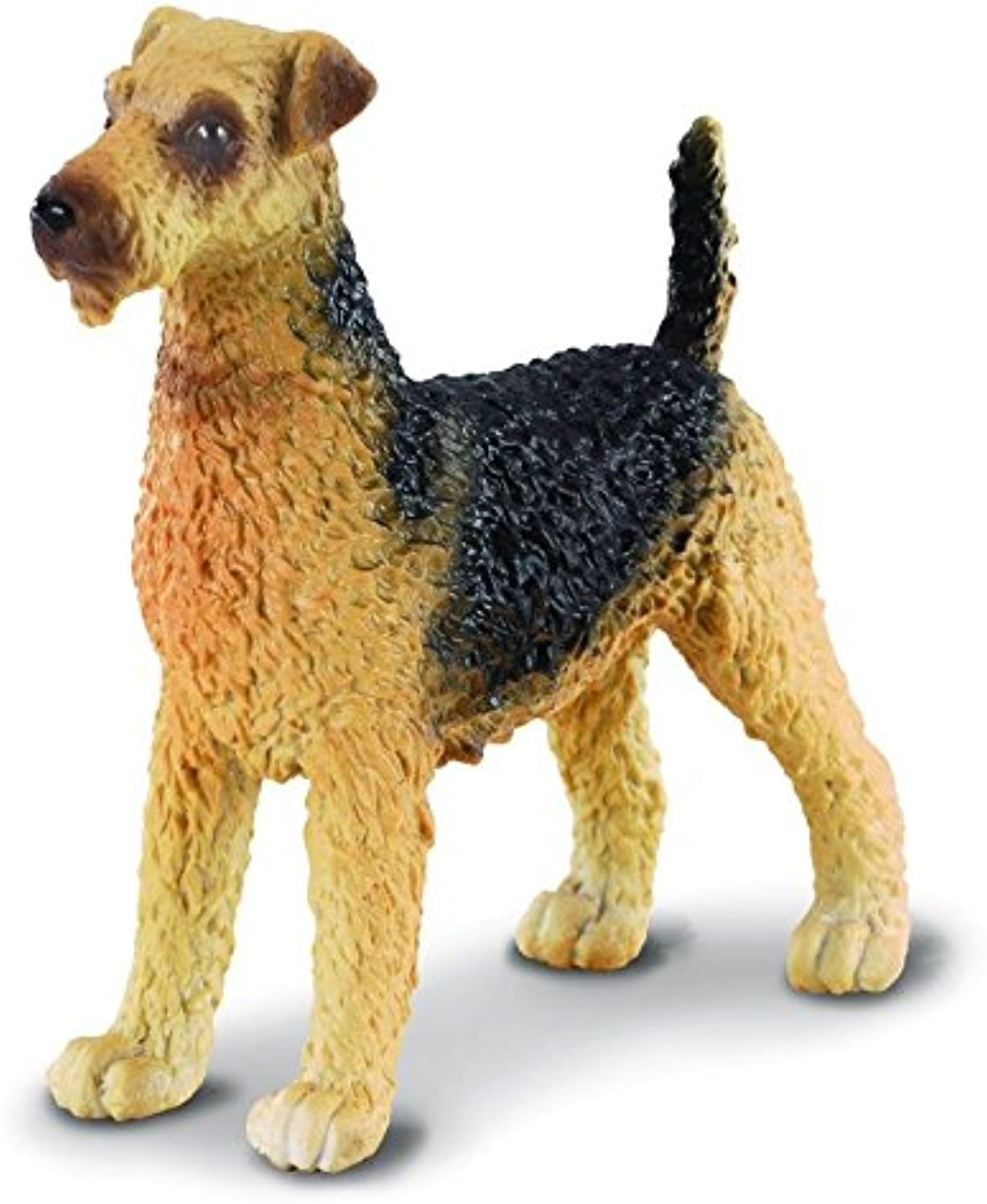 CollectA 88175 Airedale Terrier Replica Realistic Dog Figurine Toy Model - Pack of 6