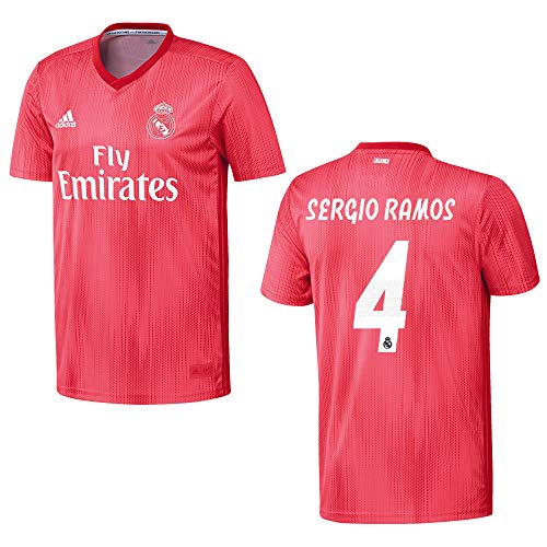 adidas REAL Madrid Trikot 3rd Herren 2019 - Sergio Ramos 4, Größe:XXL