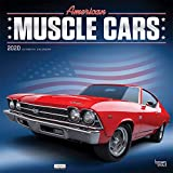 American Muscle Cars 2020 Square Wall Calendar (English, Spanish and French Edition)