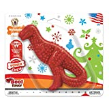Nylabone Power Chew Holiday Dinosaur Chew Toy for Dogs Beef Flavor...