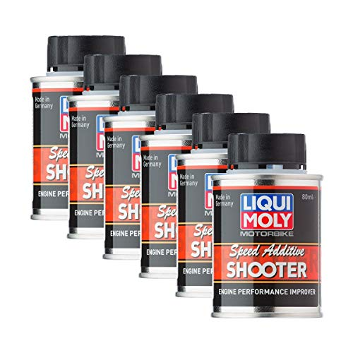 Liqui Moly 6X 3823 Motorbike 2T 4T Speed Shooter Additiv Motorrad 80