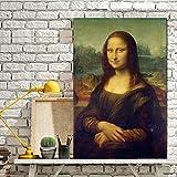 sanzangtang Leinwanddrucke Berühmte Gemälde Wandkunst Poster und Bilder für Wohnzimmer70x105Rahmenlose Malerei