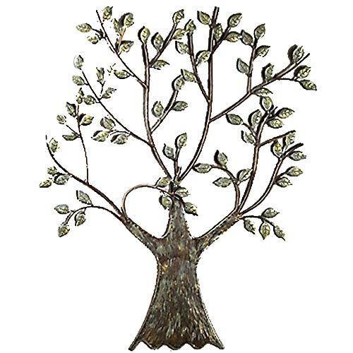 Wandrelief \'Baum\', 76 cm, naturfarben