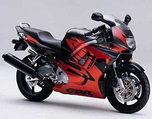 Red w/Black Injection Complete Fairing for 1997-1998 Hon-da CBR 600 F3 CBR600F3