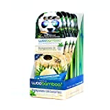 Woobamboo! Eco-Friendly Biodegradable Silk Floss, 4 Pack