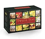 Ahmad Tea Twelves Teas (Pack of 1, Total 60 Enveloped Tea Bags) [Grocery]...