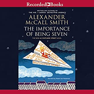 The Importance of Being Seven audiobook cover art