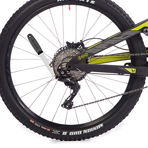 QKURT Bike Chain Whip Tool Kit, Bike Cassette Removal Tools Kit with Cassette Lockring for 7,8,9,10,11,12 Speed Chains