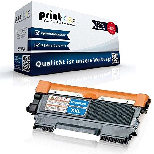 Print-Klex Tonerkartusche kompatibel für Brother DCP-7060D DCP-7060N DCP-7065DN DCP-7070DW Fax 2840 Fax 2845 Fax 2940 Fax 2950 TN2220 TN 2220 XXL Black