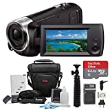 Best Video Cameras - Sony HD Video Recording HDRCX405 HDR-CX405/B Handycam Camcorder Review