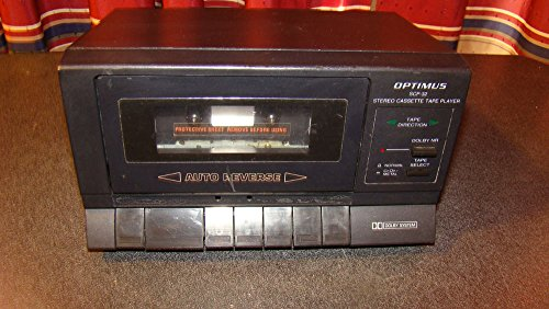 Find Bargain Optimus Stereo Cassette Tape Player SCP-32