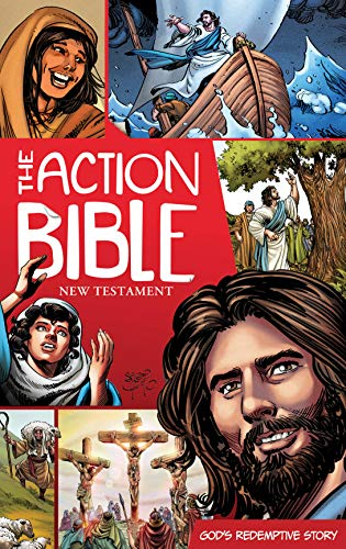 The Action Bible New Testament: God's Redemptive Story (Action Bible Series)