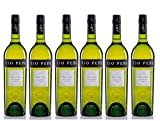 Tío Pepe Sherry - Jerez vino fino - Pack de 6 botellas x 750 ml