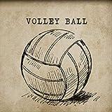 tytlwall vorgedruckt leinwand-Ölgemälde,Volleyball