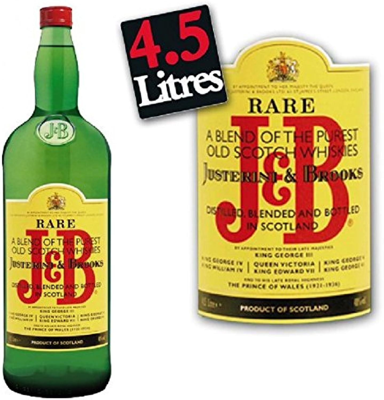 Whisky J & B 40 ° 4,5 L B006QAF3IW Ausgezeichnetes Handwerk  | Auf Verkauf