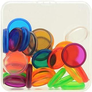 Bonarty Paquet de 30 Disques En Plastique de Support de Bague de Reliure Boucle de Bricolage pour Ordinateur Portable Acce...