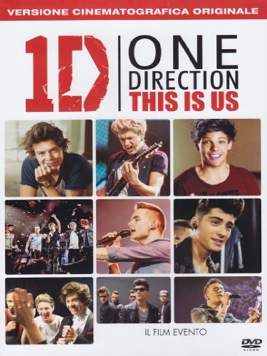 one direction - this is us dvd Italian Import by Unknown