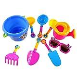 Toygogo 9 Stücke Sand Wasser Strand Sandkästen Spielzeug Werkzeuge Kits