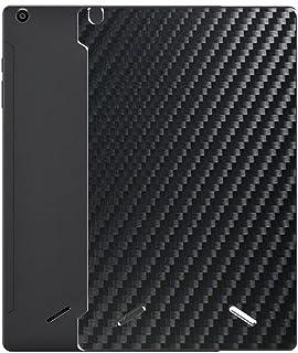 二枚 Sukix 背面保護フィルム 、 CHUWI HiPad X 10.1インチ 向けの ブラック カーボン調 TPU 保護フィルム 背面 フィルム スキンシール 背面保護 背面フィルム(非 ガラスフィルム 強化ガラス ガラス )