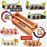 Kit di sushi per cucinare – Set di rotoli di sushi fatti in casa – Sushi Maker Machine – Fai il sushi a casa – Rendi il tuo sushi semplice e facile