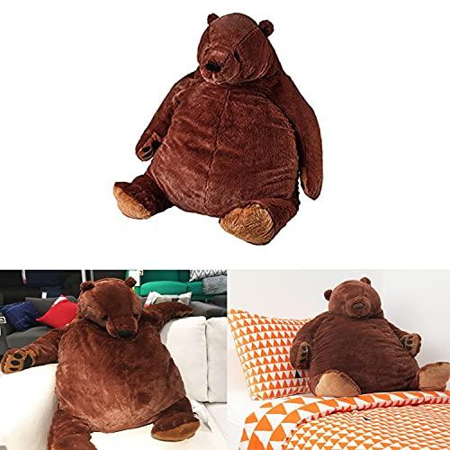 Xvfscev Giant Hug Bear Dark Brown Extra Large Teddy Bear - Stuffed Animals - Hug Bear Plush Toy, Soft Toy - for Gift, Birthday, Christmas, Toy (130cm)