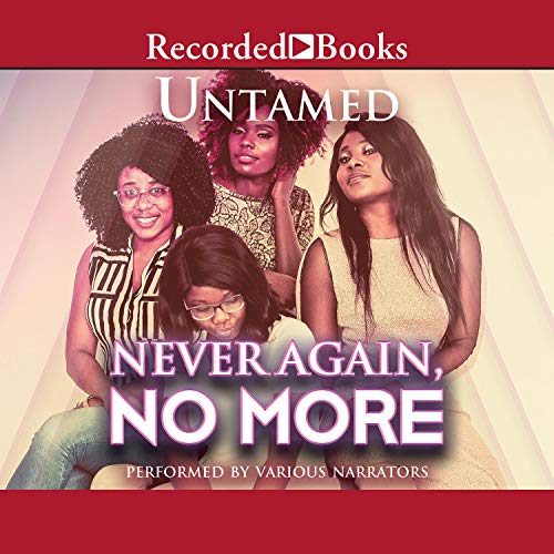 Never Again, No More audiobook cover art