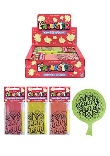 HENBRANDT 24 x Small Whoopee Cushion - Farting Classic Jokes Collection - Wholesale Box