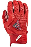 adidas Freak 3.0 Padded Receiver's Gloves, Red, Small