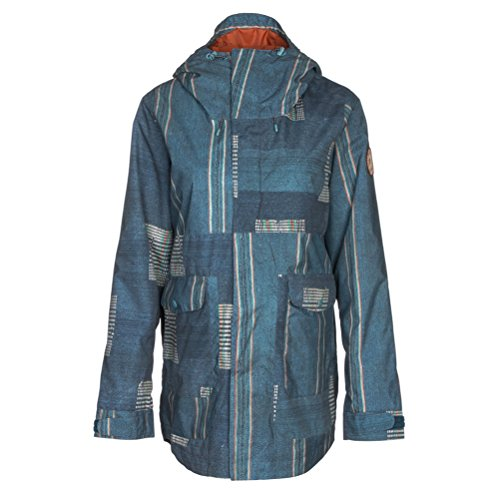 Burton Damen Jacke Cerena Parka, Damen, Rainbow Stripe, X-Small
