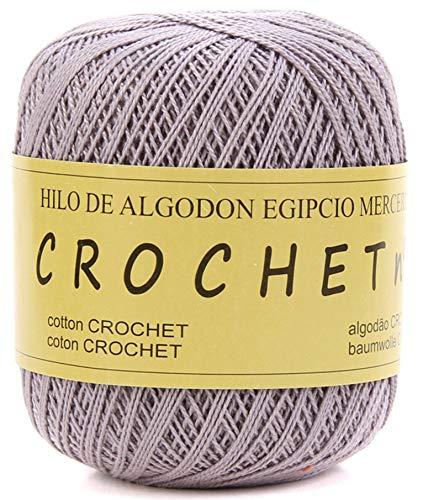 Hilo de Algodon para Tejer Crochet Ganchillo o Punto Torrijo PERLE XXL No 5 70g, Ovillo de algodón perle Suave para Tejer | 1 Unidad, Color 43306