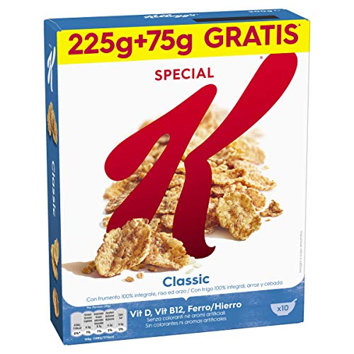 Kellogg's Special K Classic 225+75 g – Cassa da 10...