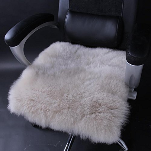 DADAO Car Comfortable Soft seat Cushion,Dining Chair pad,Boss Chair,Aussie Imported fur -C 24 * 24in