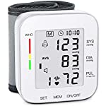 MMIZOO Blood Pressure Monitor Wrist Cuff for Home Use