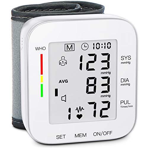 MMIZOO Blood Pressure Monitor Wrist Cuff for Home Use