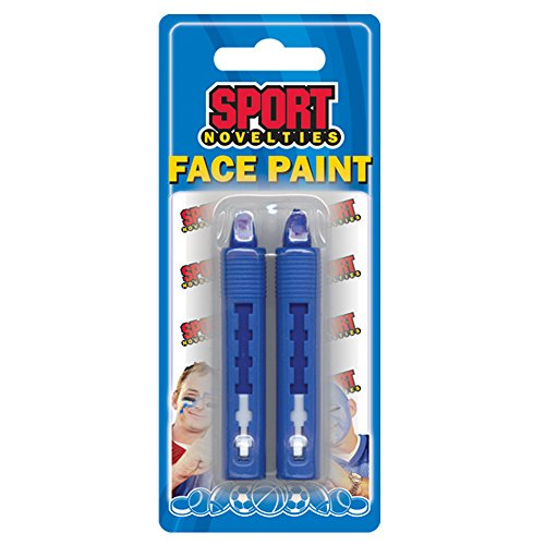 Sports Novelties Party Dress-up and Halloween Face Paint Sticks, Royal Blue, 2-Count