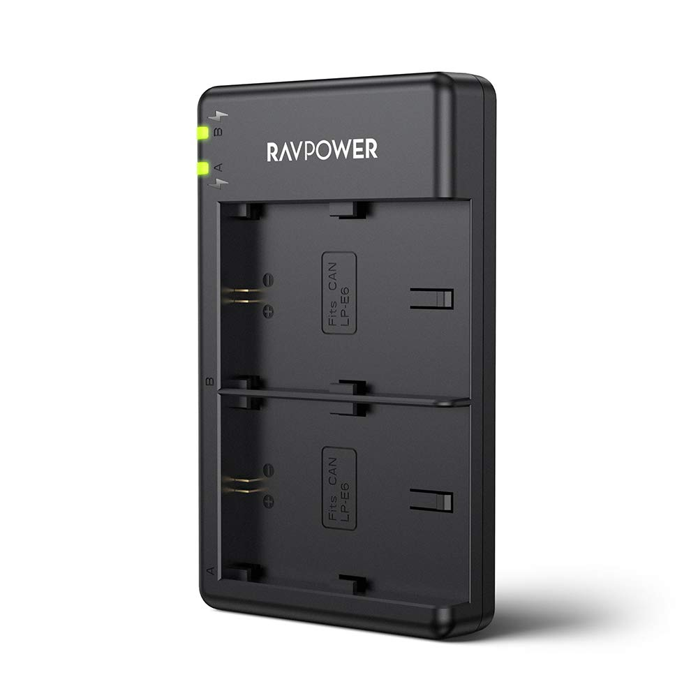 RAVPower Battery Charger Batteries Compatible