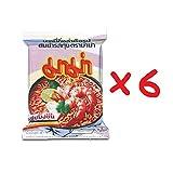 ヌードル スパイシースープ タイ語 タイ Thai Tomyum Kung instant noodle Spicy soup shrimp