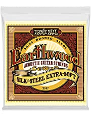 Ernie Ball Earthwood Silk and Steel Extra Soft Acoustic Set.010 - .050