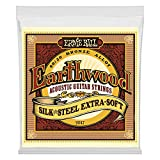 Ernie Ball Earthwood Silk and Steel Extra Soft Acoustic Set, .010 -...