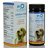 10-in-1 Dog and Cat Vet-10 Urine Test Strips 100ct, Veterinarian Lab Grade Pet Health Wellness Urinalysis Home Testing Kit, Detect Urinary Tract Infections - UTI, Diabetes, Kidney and Liver Function