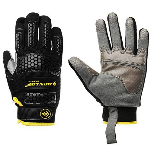 Dunlop Herren Mechanic Handschuhe Arbeitshandschuhe Mehrfarbig Erwachsene