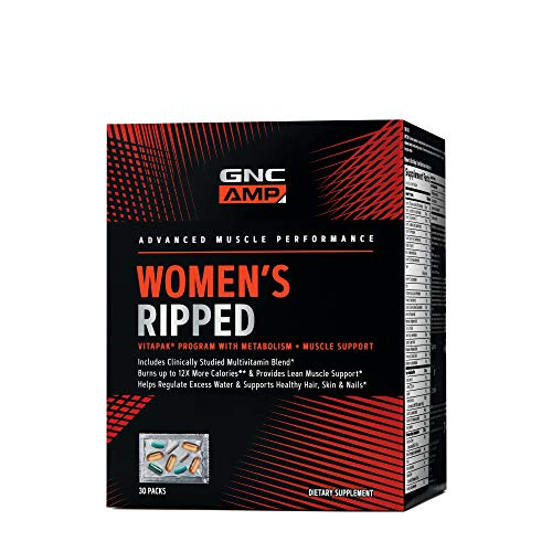 GNC AMP Women's Ripped Vitapak Program